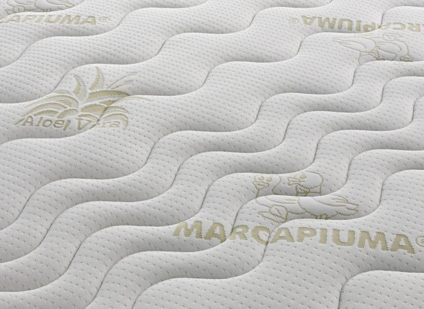 Materasso in Lattice tessuto Aloe Vera Marcapiuma