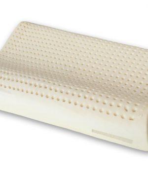 Cuscino in Lattice Naturale modello doppia onda cervicale - Marcapiuma