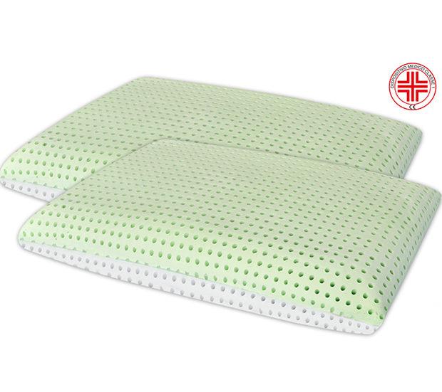 Coppia-Cuscini-Memory-BIO-Aloe-Dispositivo-Medico
