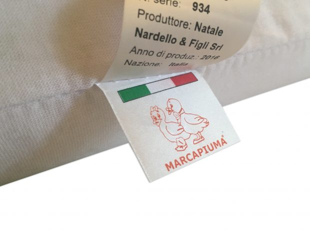 Latex Pillows Label Marcapiuma