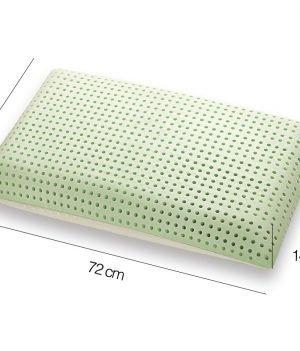 Cuscino in Memory modello BIO DOUBLE ALOE Misure - Marcapiuma