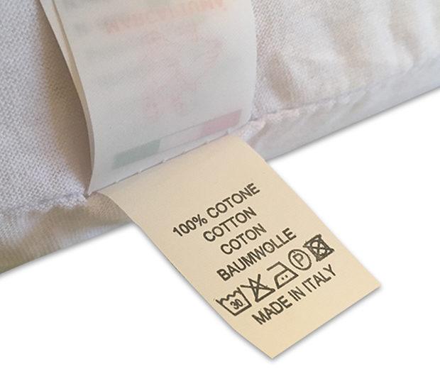Cuscino-Memory-Etichetta-Cotone-shop