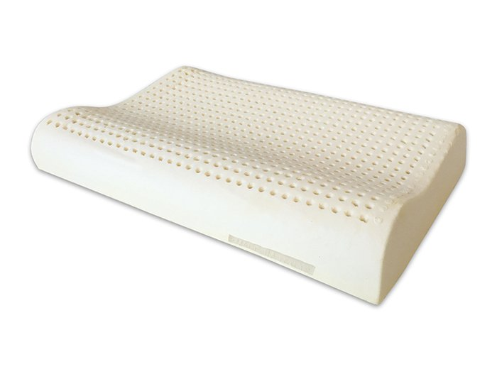 Guanciale Memory O Lattice.Wave Shaped Natural Latex Pillow