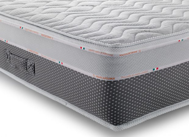 Materasso Top Air Silver.Memory Foam Mattress Top Relax Marcapiuma