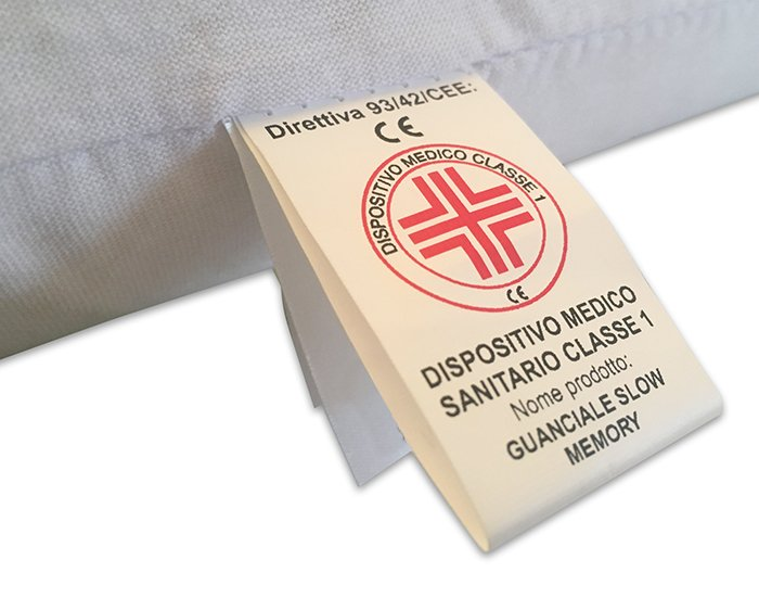 cuscino-Memory-Etichetta-Dispositivo-Medico-shop