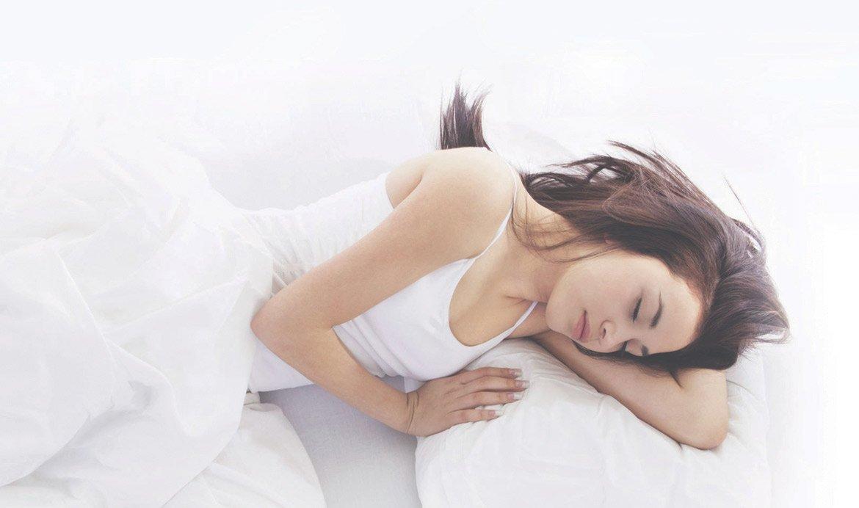 donna-Riposa-sonno-marcapiuma