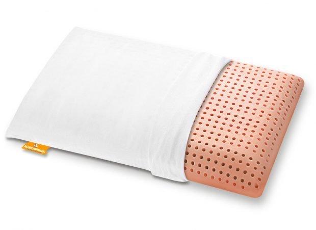 Cuscino-Memory-Bio-Clean-Zip foderina Cotone - Marcapiuma