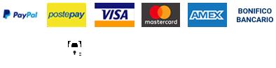 Metodo di pagamento: Carte Bonifico Postepay Marcapiuma