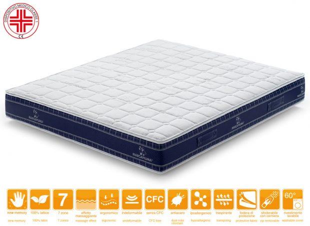 Materasso Memory Levante Rivestimento Thermic Dispositivo Medico - Marcapiuma
