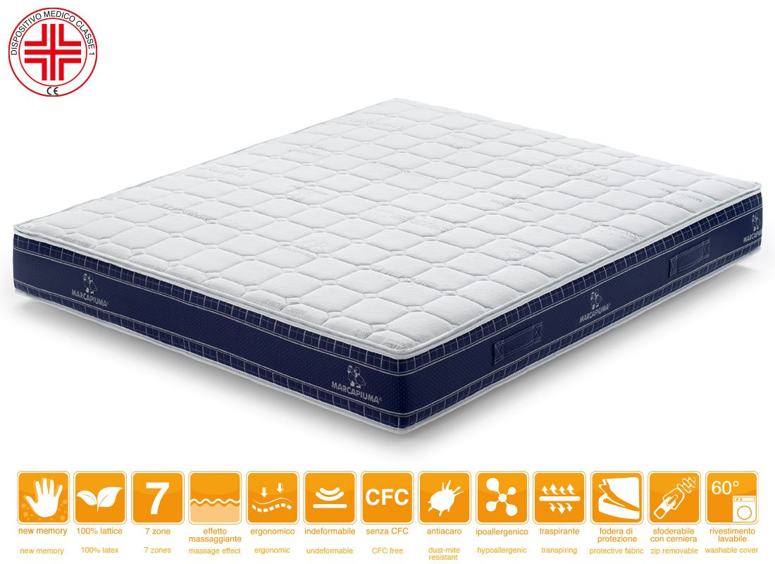Materasso-Memory-Levante-Rivestimento Thermic Dispositivo Medico - Marcapiuma