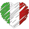 Cuore italiano Marcapiuma
