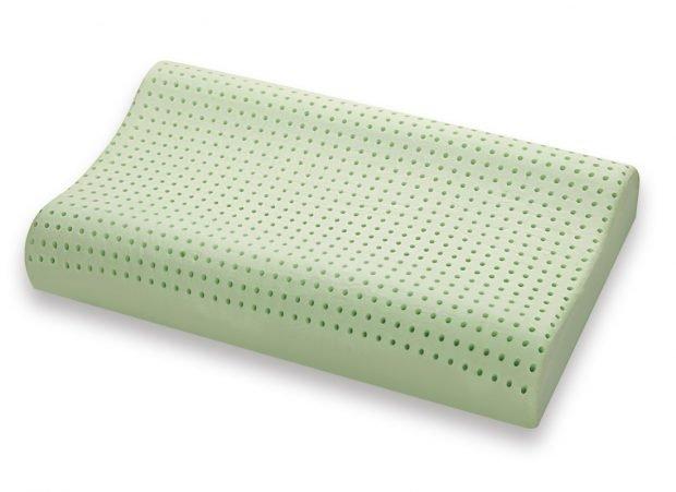 Cuscino in Memory modello BIO GREEN doppianda - Marcapiuma