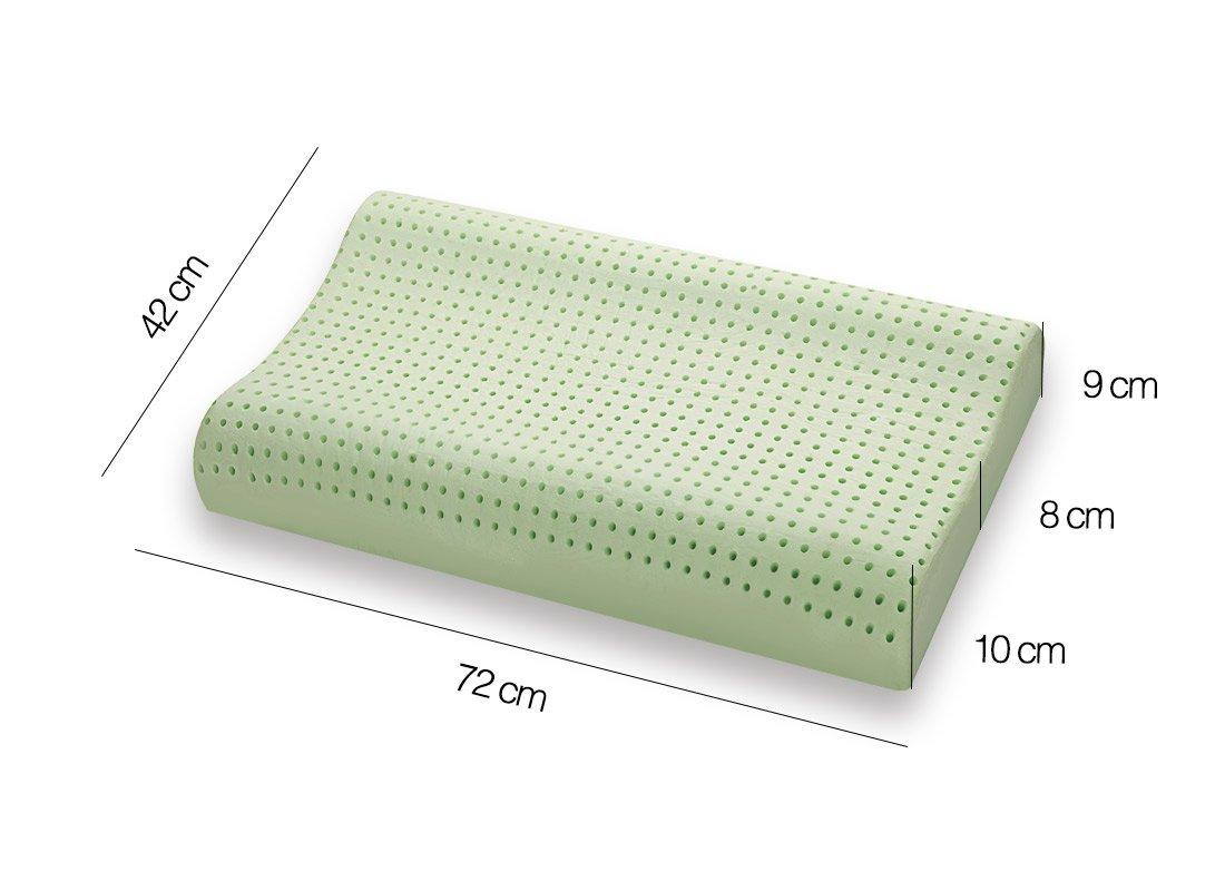 Cuscino-Memory-BIO-GREEN-doppianda-Misure-Marcapiuma
