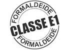 Certificazione logo Formaldeide classe e1 - Marcapiuma