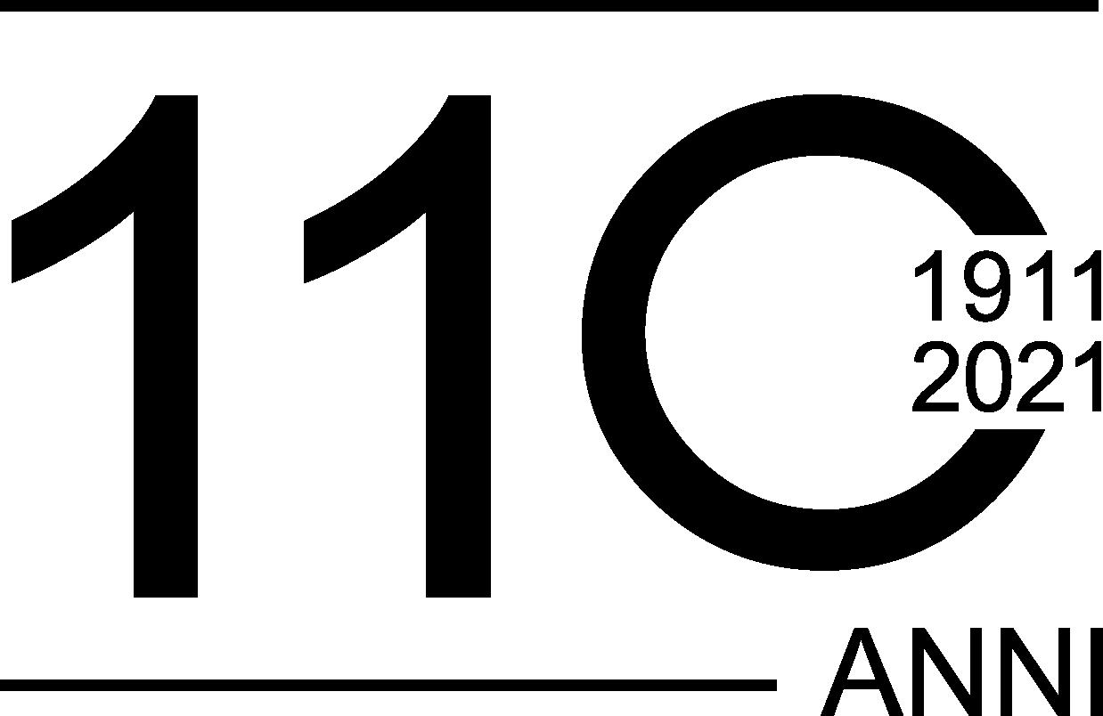 Logo Anniversario 110 anni - Marcapiuma