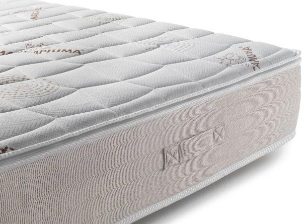 Materasso modello N110 tessuto e maniglie - Marcapiuma