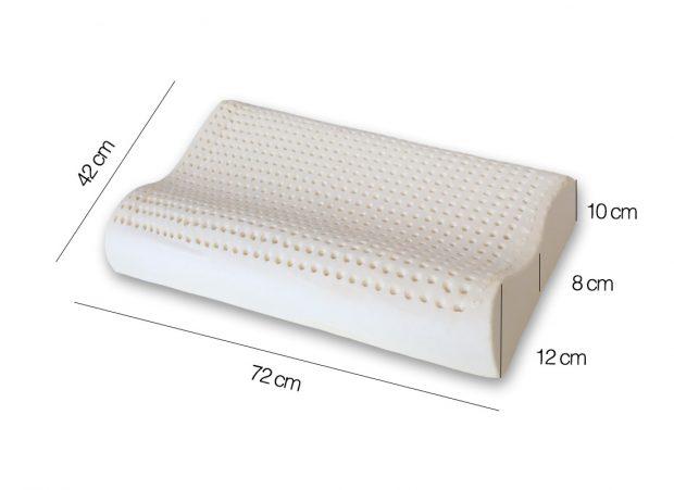 Cuscino-Lattice-doppia-onda-misure - Marcapiuma